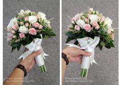 Baiciurina Olga's Design Room: Элегантный букет невесты в розово-салатовых цветах-Elegant Pink&Green wedding bouquet