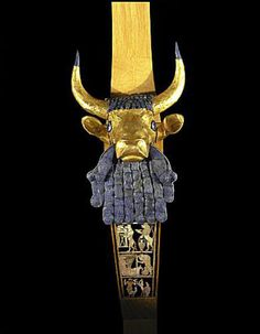 Artifacts of the Royal Cemetery of Ur: Bull-Headed Lyre from the Royal Cemetery at Ur