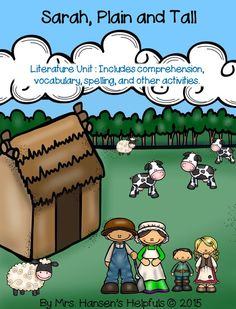 Sarah, Plain and Tall written by Patricia MacLachlan is a story about a family on the prairie.  I used this literature unit and my kids did really well with it. - fun https://www.teacherspayteachers.com/Product/Sarah-Plain-and-Tall-Literature-Unit-2105780