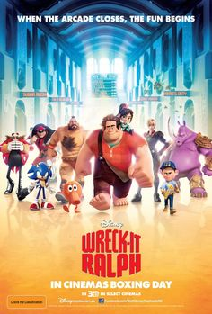 """Wreck-it Ralph"", new international Poster"
