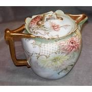 Antique Limoges Teapot. This one is just heavenly and a feast for my eyes.  B.
