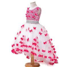 3-12Y девушка платья для свадьбы нового стиля блестки цветы принцесса девочек платья лето девушки размытие платья