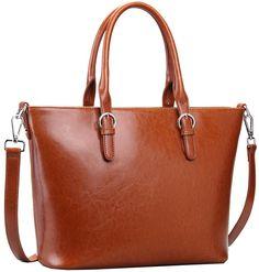Heshe® Fashion Women Top-handle Tote Cross Body Shoulder Bag Messenger Purse for Lady Simple Style (Black3): Handbags: Amazon.com