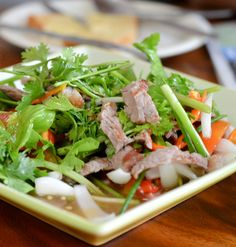 Maxines Burn : Thai Beef Salad
