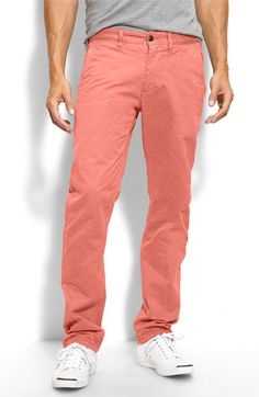 I want a boy who wears these... dockers 'alpha khaki' pants in 'dusty cedar'