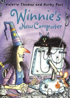 Winnie the Witch by Valerie Thomas and illustrated by Korky Paul. Chinese New Year Card, Chinese Book, Holidays Halloween, Halloween Decorations, Haunted Halloween, Halloween Witches, Halloween 2017, Winnie The Witch, Witches Night Out