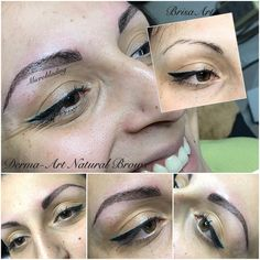 Derma-Art Natural Brows#eyebrowtattoo#permanentmakeup#www.brisaart.hu