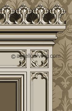 Gothic Room | Agrell Architectural Carving