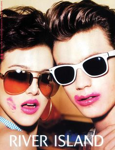 c64a0a1d71d Sid Ellisdon Jacob Young and Ryan Kennedy photographed by Ellen von Unwerth  for River Island SS 2012 source  TheFashionisto