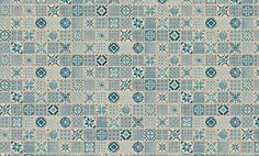 Home plus Fix - Porto blue: Vinyl-Klick Fliesen (Limited edition) (852) - Vinyl-Klick-Laminat - Bodenbeläge