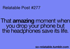 So Relatable! To see more relatable posts, check out so-relatable. for teen quotes, funny posts, and relatable stuff you will LOVE.Well for me it was my player and my earbuds but.Whatever floats your boat. Post Quotes, Teen Quotes, Funny Quotes, Qoutes, Funny Memes, Teen Posts, Teenager Posts, Haha So True, Funny Posts