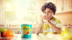 Campanha Nestle on Behance