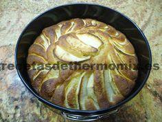 Tarta de manzana con Thermomix - http://www.recetasdethermomix.es/reposteria/tarta-de-manzana.html