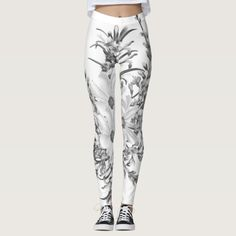 Discover New leggings at Zazzle! Creative Design, Designers, Leggings, Fresh, Floral, Pattern, Clothes, Collection, Women