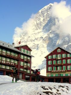 The Eiger.I want to go see this place one day.Please check out my website thanks. www.photopix.co.nz