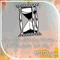 Berapa Lama Waktu Yang Dibutuhkan Untuk Mendapatkan Traffic Blog ? Sandbox, Blog, Home Decor, Litter Box, Decoration Home, Room Decor, Sand Pit, Blogging, Home Interior Design