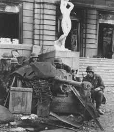 German soldiers with 5 cm PaK 38 / Stalingrad 1942