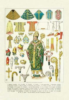 Medieval & Renaissance Church and Clerical Vestments