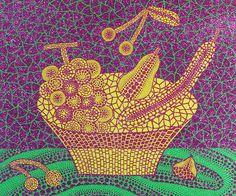 草間 彌生「果物かご(3)」1999年 シルクスクリーン・ラメ ED.60Bunkamura Galleryが、毎年恒例の人気企画「アート バザール」を、2016年1月9日(土)から1月26日(火)ま...