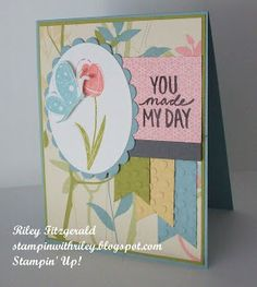 Stampin' with Riley: Garden Vintage