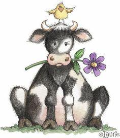 cow art.