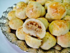 The kleicha chronicles continue.  Following date kleicha  and coconut kleicha , (and Traditional Iraqi Date Kleicha ) we now also have th...