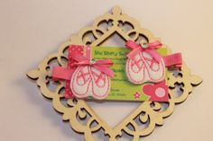 Ballerina Hair Clips  Girls Boutique Style by sewsimplysweet, $4.50