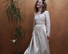 Vintage wedding dress Lace wedding dress wide strap dress   Etsy Polka Dot Wedding Dress, Striped Wedding, Lace Wedding, Wedding Dress Sleeves, Dress Lace, Wedding Dresses, Chandelier Chain, Embroidery Dress, Lace Back