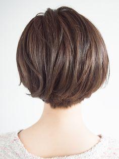 Short Haircuts for Women Over 50 Back View | 髪型・ヘアカタログのビューティーBOXヘアスタイル