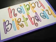 birthday happy card fonts drawing simple drawings cards diy font letters writing lettering write doodles calligraphy bday chalkboard letter birthdays