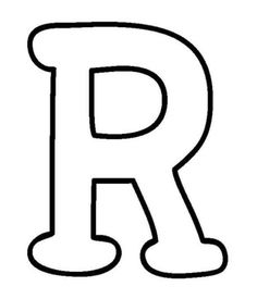 big r free alphabet coloring pages printable and coloring book to print for free. Find more coloring pages online for kids and adults of big r free alphabet coloring pages to print. Coloring Letters, Letter B Coloring Pages, Coloring Pages To Print, Printable Coloring Pages, Coloring Books, Alphabet Capital Letters, Printable Alphabet Letters, Alphabet Templates, Stencil Lettering
