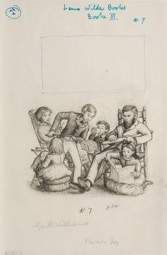 Garth Williams Little House Illustrations | 78446: GARTH WILLIAMS (American, 1912-1996) Farmer Boy, : Lot 78446