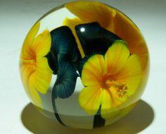 Art glass paper weights - glass art from Kela's Gallery