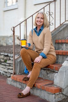 Fall Outfit by Talbots – #sponsored Create beautiful fall styles for women with Talbots classics and modern pieces – click through for all the details and styling tips – Talbots creates classic clothing with a modern touch - #womensfashions #fallfashions #modernclassicstyle #talbotspartner #mytalbots @Talbots @shopstyle #fallstylesforwomen