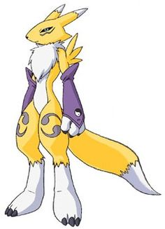 Renamon  my favorite digimon of all time