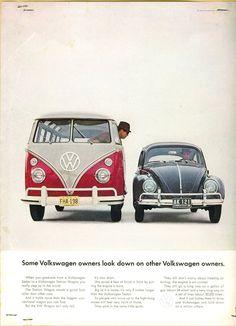 Some Volkswagen Owners Look Down…