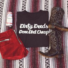 WEBSTA @ bandit_brand - Dirty deeds and they're done dirt cheap. #banditbrand