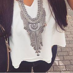 Lovely Silver Necklace!