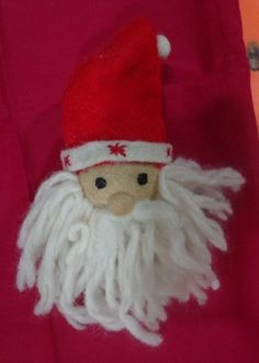 Felt Santa Claus Ornament Handmade in Nepal | eBay