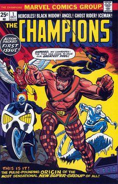 The Champions #1 ::  ©1975 Marvel Comics