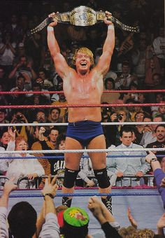Rowdy Roddy Piper - loved his beef with Bad News Brown