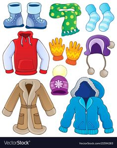 Winter clothes coming soon! Womens Winter clothes coming soon sweaters, velour sets, pants, scarves and hats keep ypur eyes peeled so you dont miss a thing. Preschool Education, Preschool Activities, Teaching Kids, Clothes Clips, Preschool Colors, Weather Activities, Worksheets For Kids, Pre School, Winter Outfits