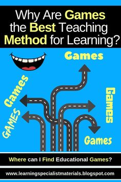 Why are Games the best Teaching Method for Learning? (Learning Specialist and Teacher Materials - Good Sensory Learning) Dyslexia Teaching, Help Teaching, Creative Teaching, Teaching Ideas, Classroom Games, Classroom Decor, Dysgraphia, Reading Specialist, Educational Games For Kids