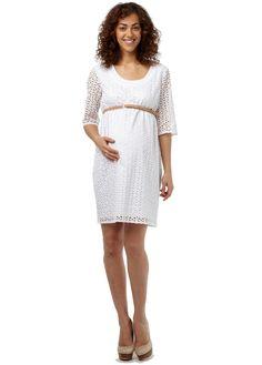 Ella Eyelet Dress. Rosie Pope Maternity. $178
