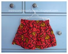 mi rincón de mariposas: Coser una falda de niña para el verano