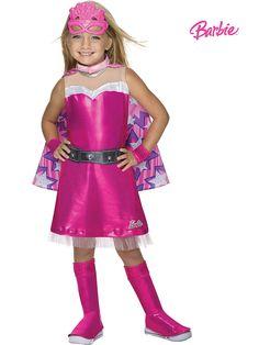 Girls Barbie Deluxe Super Sparkle Costume