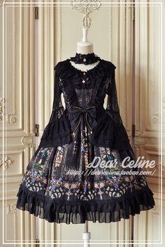 DearCeline -The Endless Vow- Gothic Lolita Jumper Dress