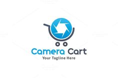 Camera Cart Logo by Martin-Jamez on Creative Market
