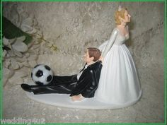 Pure-Romance replace the soccer ball with a fishing pole then its perfect! Soccer Wedding, Next Wedding, Dream Wedding, Wedding Dreams, Wedding Humor, Wedding Stuff, Football Love, Soccer Humor, Sports Humor