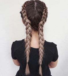 Image result for two french plaits goldwell
